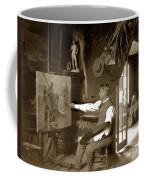 Charles Dickman Artist Monterey California Circa 1907 Coffee Mug