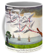 Charles Fox: Cartoon, 1782 Coffee Mug