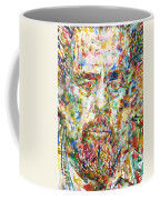 Charles Mingus Watercolor Portrait Coffee Mug