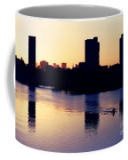 Charles River Rower At Dawn Coffee Mug by Kenny Glotfelty