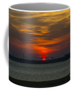Charleston Sc Sunset Coffee Mug