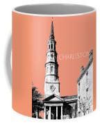 Charleston St. Phillips Church - Salmon        Coffee Mug
