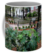 Charleston Waterfront Park Benches Coffee Mug by Carol Groenen