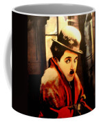 Charlie Chaplin Coffee Mug by Jay Milo