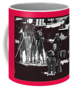 Charlie Chaplin On Location With His Camera Crew Shooting The Gold Rush 1925-2009  Coffee Mug