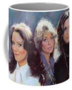 Charli's Angels Kate Jackson Farrah Fawcett Jaclyn Smith Coffee Mug