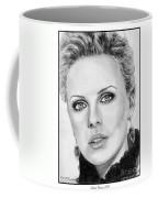 Charlize Theron In 2008 Coffee Mug