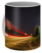 Charlotte City Airport Entrance Sculpture Coffee Mug