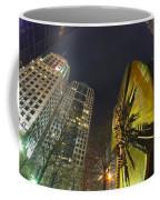 Charlotte Downtown At Night Coffee Mug