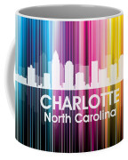 Charlotte Nc 2 Coffee Mug by Angelina Vick