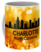 Charlotte Nc 3 Coffee Mug by Angelina Vick