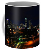 Charlotte Nc At Night Coffee Mug by Chris Flees