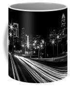 Charlotte Flow B/w Coffee Mug