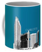 Charlotte Skyline 1 - Steel Coffee Mug