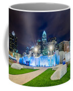 Charlotte Skyline Behind Romare Bearden Park Coffee Mug