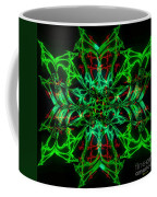 Charlotte's New Freakin' Awesome Neon Web Coffee Mug by Elizabeth McTaggart