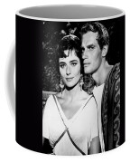 Charlton Heston And Marina Berti Coffee Mug
