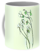 Charming Cotton Bolls Coffee Mug