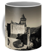 Chateau De Castelnaud With Hot Air Coffee Mug