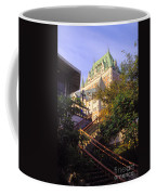 Chateau Frontenac In Quebec Coffee Mug