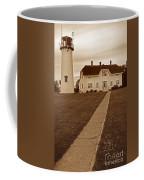 Chatham Lighthouse Coffee Mug by Skip Willits