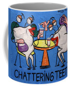 Chattering Teeth Dental Art By Anthony Falbo Coffee Mug