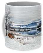 Chatuge Dam Winter Vista Coffee Mug