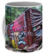Cheakamus Box Car Graffiti Coffee Mug