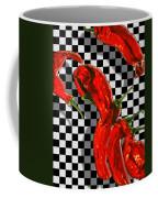 Checker Peppers Coffee Mug