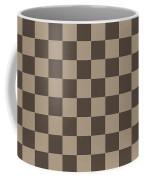 Checkerboard Pattern Fractal Flame Coffee Mug by Keith Webber Jr