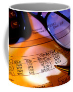 Checking Account Statement Coffee Mug