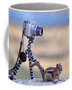 Cheeky Chipmunk Coffee Mug