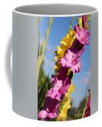 Cheerful Gladiolus Coffee Mug