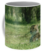 Cheetah At Attention Coffee Mug