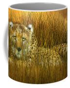 Cheetah - In The Wild Grass Coffee Mug