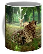 Cheetah Lunch-87 Coffee Mug