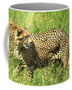 Cheetahs Running Coffee Mug