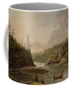 Cheevers Mill On The St. Croix River Coffee Mug by Henry Lewis