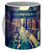 Chelsea Street As Seen From The High Line Park. Coffee Mug