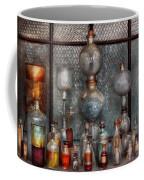 Chemist - The Apparatus Coffee Mug by Mike Savad