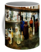 Chemistry - Assorted Chemicals In Bottles Coffee Mug