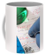 Chemistry Formulas In Science Research Lab Coffee Mug