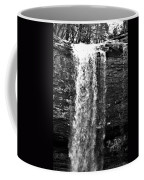 Cherokee Falls In Monochrome Coffee Mug