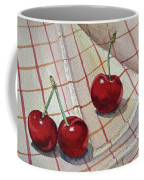 Cherry Talk By Irina Sztukowski Coffee Mug