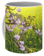 Cherry Blossom And Rapeseed Coffee Mug