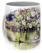 Cherry Blossom Rower Coffee Mug