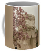 Cherry Blossoms At The Martin Luther King Jr Memorial Coffee Mug