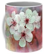 Apple Blossoms In Soft Pink - Digital Paint Coffee Mug