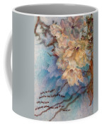 Cherry Blossoms N Lace Coffee Mug