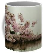 Cherry Blossoms On A Foggy Morning Coffee Mug